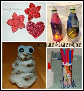 Arts and Crafts collage